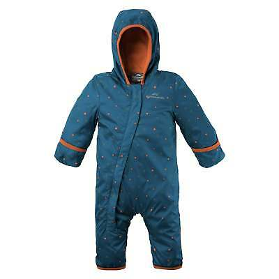 Kathmandu Bambino Kids Boys Fleece Lined Water Repellent Outside Jumpsuit v5