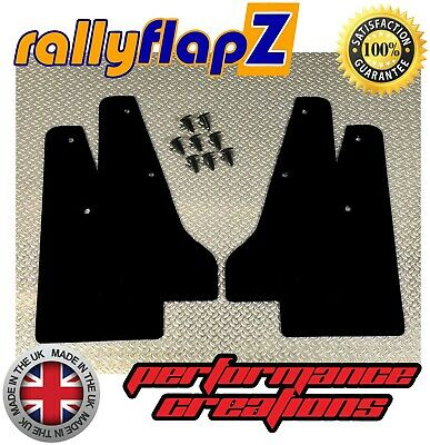 miniflapZ SUBARU IMPREZA (93-00) Mini Mudflaps/Splash Guards Qty4 Black KAYLAN