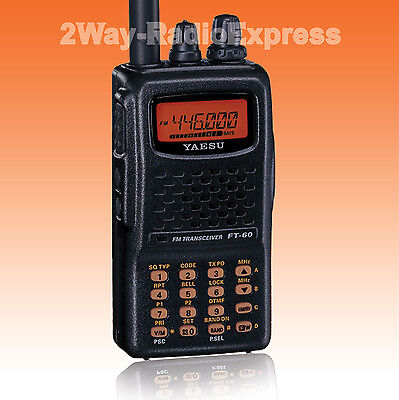 YAESU FT-60E DualBand VHF-UHF with WIDE-BAND RECEIVER!, Ham bands only TX FT-60R