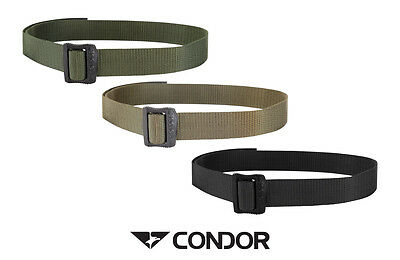 "Condor 1.5"" BDU Belt Tactical Police EMT Military Airsoft in Black OD Tan 240"
