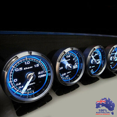 3x Link Meter ADVANCE C2 Defi STYLE GAUGE 60mm Suits Universal Fit