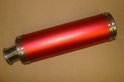 High Performance (Red) Exhaust Muffler System 150Cc Scooters (Muffler & Pipe)