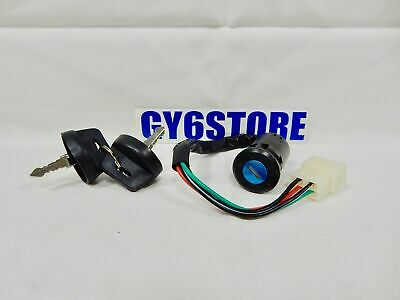 Ignition Switch With Keys # 10 For Atvs And Karts