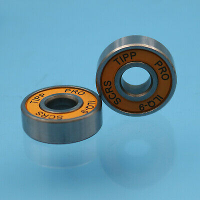 8 x High Speed Inline Skate Skateboard ILQ-9 fit for ABEC-9 608RS Steel Bearings