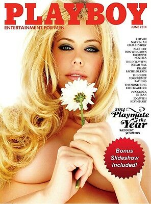 Playboy June 2014- Playmate Of The Year Edition **new In Packaging**