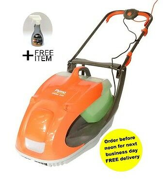 Flymo Glider 330 Hover Collect Mower Silver Grade +FREE GIFT RRP9.99