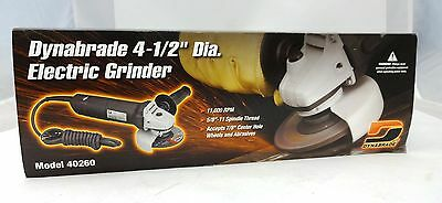 "Dynabrade 40260 4 1/2"" Electric Right Angle Grinder"