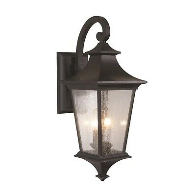 Craftmade Z1364-11 Argent II Outdoor Wall Light In Midnight