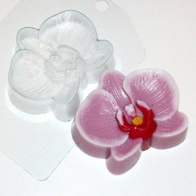 """""""Orchid"""" flower plastic soap mold soap making mold mould"""