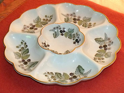 Royal Worcester Lavina 6 Section Large Dish