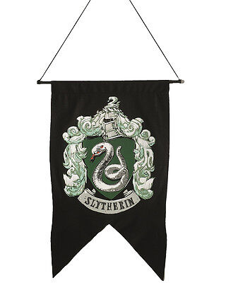 Discontinued Harry Potter Rare Slytherin Banner Flag