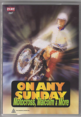 On Any Sunday Motocross Malcolm & More Dvd New