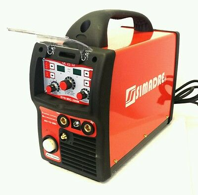 Mig Tig Mma/arc Simadre 3In1 Igbt Synergic Digital Welding Machine 200 Amp