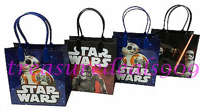 18 Pcs Star Wars Goodie Gift Bags Storm Troopers Party Favors Treat Birthday Bag