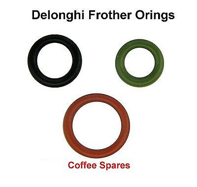 Delonghi ORING Kit for milk frother set of 3  -Automatic Coffee Machine see list