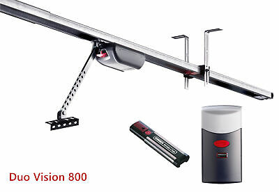 Sommer Duo Vision 800 Garage Door Opener Electric Automatic Operator + Remote