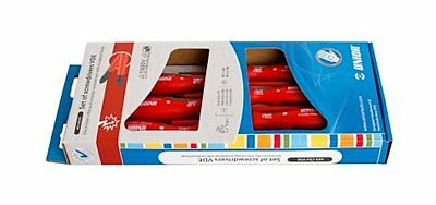 NEW Electricians 11pc Insulated Screwdriver PLier Strippers Snippers Kit Set VDE