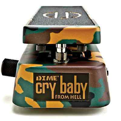 Jim Dunlop Cry Baby Dimebag Signature Wah Wah Electric Guitar Effects Pedal DB01