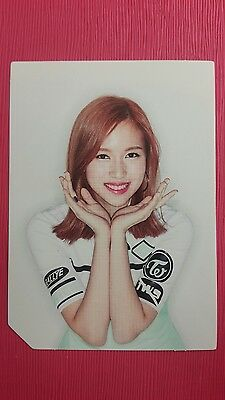 TWICE MINA Official Photocard PINK Ver. 2nd Album PAGE TWO Photo Card 미나