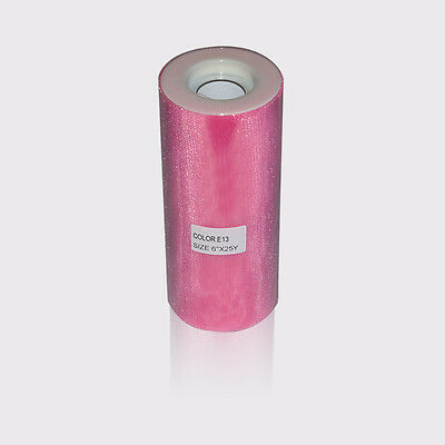 "soft shiny glimmer shimmer tulle spools rolls 6"" 200Y"