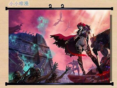World of Warcraft Sylvanas Windrun Home Decor Poster Wall Scroll Painting 80*60
