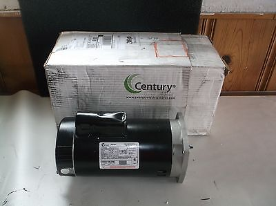 NEW CENTURY B2859 Pool Pump Motor, 2 HP, 3450 RPM, 115/230V (A26T)