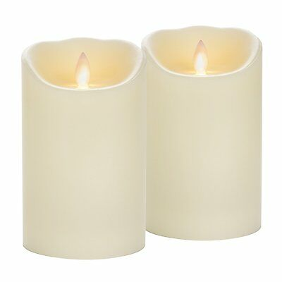 Candle Impressions Mirage Flameless Candles w/ Timer Feature - Set of 2 -