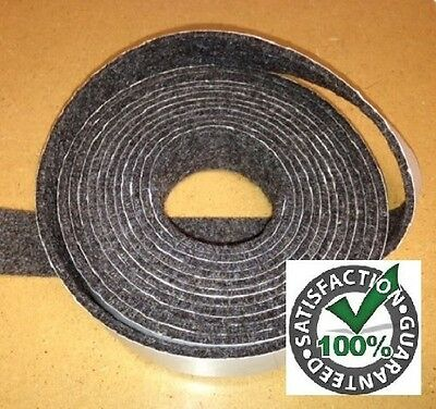 Black Smoker Gasket 1 x 1 8 bbq smoker gasket seal. Delivery is Free