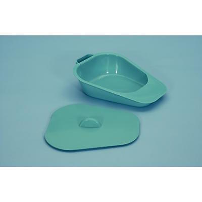 Selina Slipper Pan Bed Pan Portable Toilet Urinal & Lid