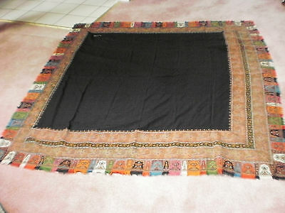 Antique Victorian Kashmir shawl