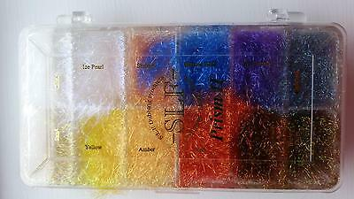 Wapsi SLF Prism 2 Dubbing Box | 12 Colours | Fly Tying Materials