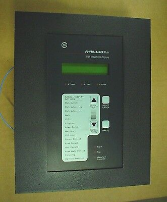 GE Power Leader Meter TM1G04 with Waveform Capture - 60 day warranty