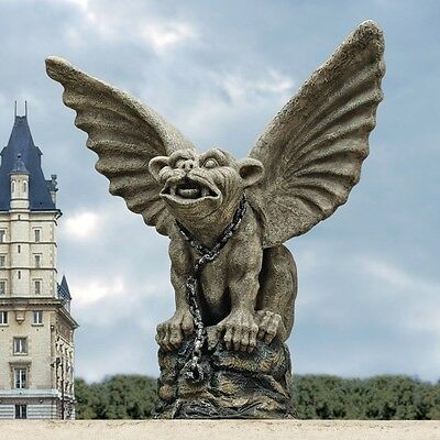 Design Toscano Chained Cathedral Gargoyle Statue. Huge Saving