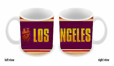 Basketball Team Hashtag Los Angeles Purple and Gold #LosAngeles Purple and Gold
