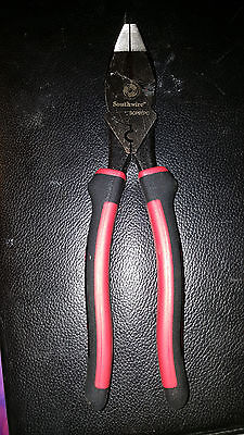 """NEW Southwire 9"""" High Leverage Crimping Pliers SCP9TPC"""