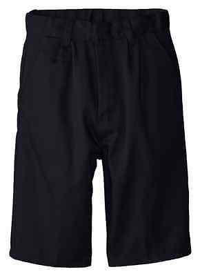 Boys Navy Short Pleated Front Genuine School Uniform  Sizes 4 -20