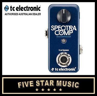 Tc Electronic Spectracomp Bass Guitar Compressor Pedal New Spectra Comp