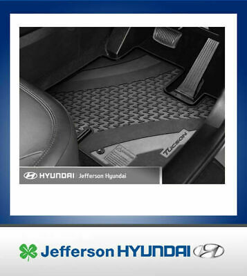Hyundai Tucson Active X Rubber All Weather Heavy Duty Floor Mat Set 4 D3A21APH00