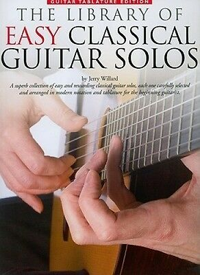 The Library of Easy Classical Guitar Solos by Jerry Willard.