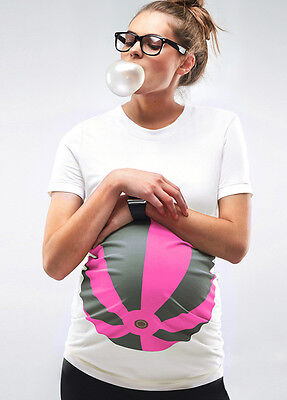 NEW - Mamagama - Neon Pink Beach Ball T-Shirt | Maternity Clothes
