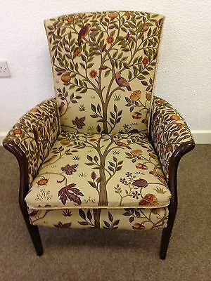Parker Knoll Froxfield Arm Chair Accent William Morris Kelmscott Tree