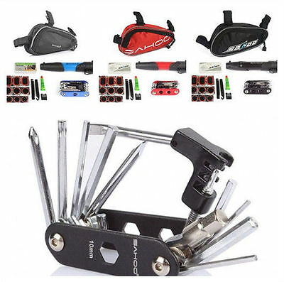 Portable Multi-function Cycling Bicycle Cycle Bike Repair Tool Kit Set With Pump