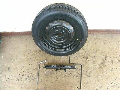 2002 Toyota Corolla 15'' Spare Wheel Tyre And Jack Kit 195/60R15