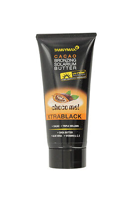 TannyMaxx Choco Me Xtra Black Cacao Sunbed Lotion Bronzing Butter 30ml 100ml