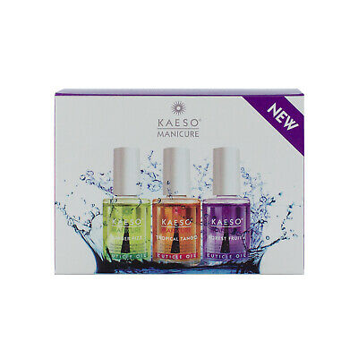 Kaeso Scentsational Cuticle Oil Collection (3 x 14ml)