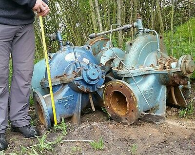Water Pump Industrial Hsb6 6400 Lpm 1400 Gpm  Turbine Etc Fire Pump