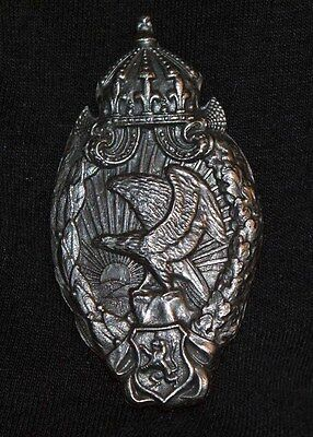 Vintage WWI Bulgarian Observer Badge This is in beautiful condition.