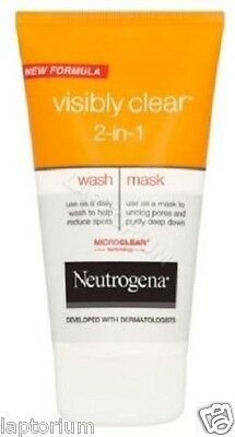 Neutrogena Visibly Clear 2-in-1 Wash Mask 150ml