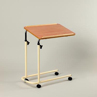 Days Height Adjustable Over Bed Table Tilting Top  with Castors