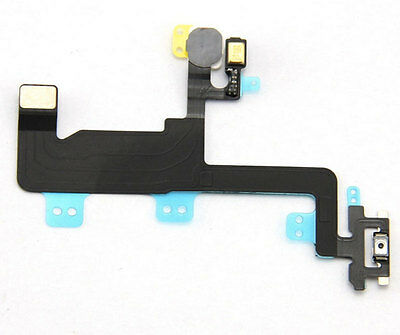 Power Button On/Off Flex Cable W/ Metal Bracket Assembly For iPhone 6 4.7''